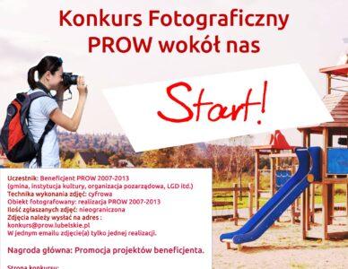 """Konkurs fotograficzny """"PROW wokół nas"""""""