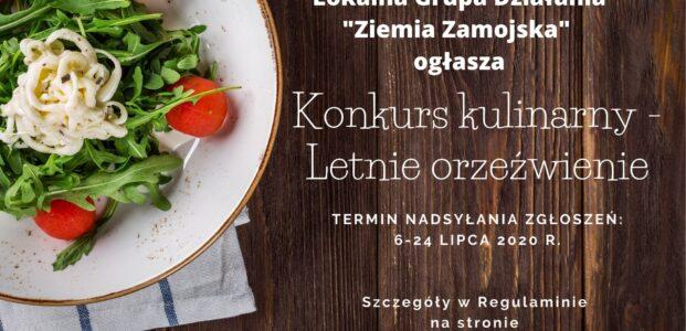 Konkurs kulinarny – Letnie orzeźwienie