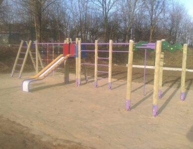 Budowa placu zabaw w miejscowości Grabowiec