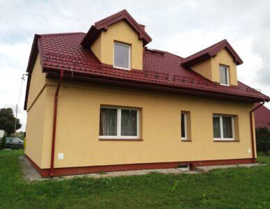 Przebudowa dachu i remont budynku Koła Gospodyń Wiejskich w Horyszowie Polskim
