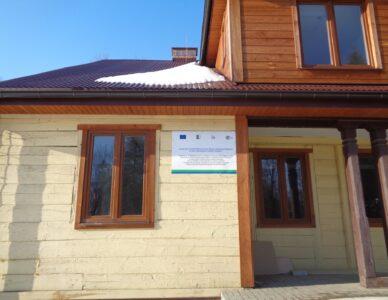 Przebudowa Domu Ludowego w Udryczach-Woli
