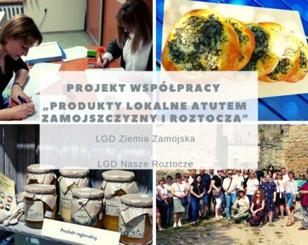 """Umowa na projekt współpracy """"Produkty lokalne atutem Zamojszczyzny i Roztocza"""
