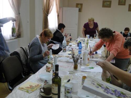 2015.04.21 - Warsztaty rękodzieła artystycznego w Sitnie