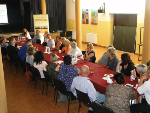 2015.08.21 - Zakończenie cyklu spotkań konsultacyjnych