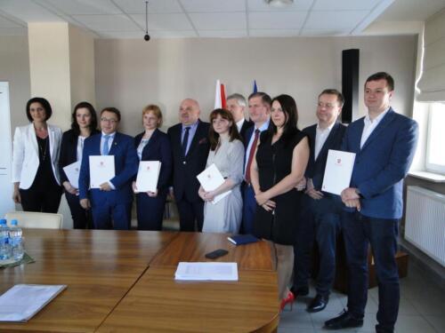 2016.05.23 - Wręczenie Umów o Warunkach i Sposobie Realizacji Strategii Rozwoju Lokalnego Kierowanego przez Społeczność