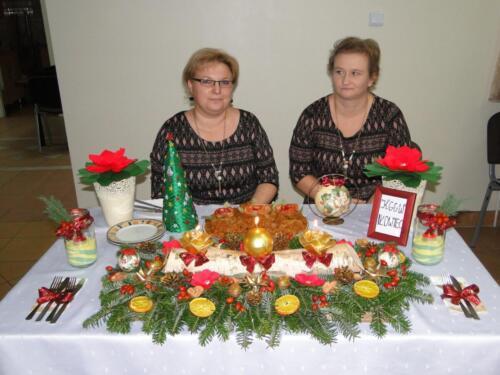 2016.12.14 - Rozstrzygnięcie II etapu Konkursu na Potrawę Świąteczną i Stroik Bożonarodzeniowy