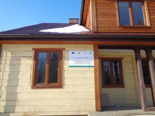 2018.07.25 - Przebudowa Domu Ludowego w Udryczach-Woli