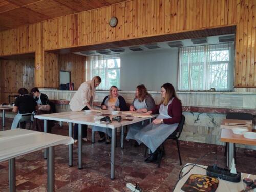 2020.10.07 - Warsztaty rękodzieła w Miączynie i Krzaku